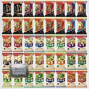 未使用 新品 フリ-ズドライ アマノフ-ズ P-5Q +わさび茶漬け1食 [G40] 味噌汁 いつものおみそ汁 全 20種類 40食 パ-フェクト セット