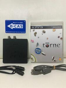 トルネ torne CECH-ZD1 地上デジタルチューナー B-CASカード PS3 PlayStation3 プレステ3
