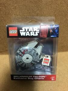 レゴ LEGO スターウォーズ ミレニアムファルコン 限定 バッグチャーム キーホルダー 開封品