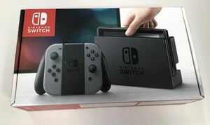 Y782a★Nintendo Switch 本体 (ニンテンドースイッチ) 【Joy-Con (L) / (R) グレー ver.13.0.0 ゲーム機本体 【任天堂】 中古品★
