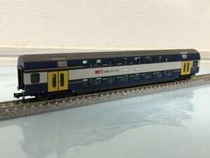 Fleischmann 8154 SBB スイス国鉄AB形 1等2等合造ダブルデッカー客車