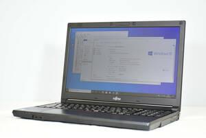 Office付 新品高速起動 SSD256GB/8GBメモリ 富士通 高速Core i7-4600M@2.9GHz 中古ノートパソコン Windows10済 WIFI DVD-RW オプションあり
