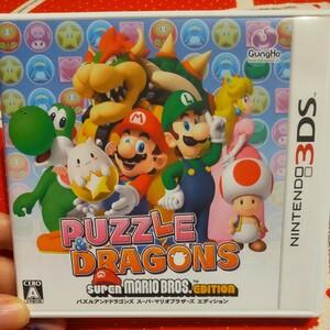 【3DS】 パズル&ドラゴンズ スーパーマリオブラザーズ エディション パズドラ タッチペンなし