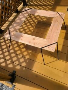 2way 組立式 囲炉裏テーブル BBQテーブル