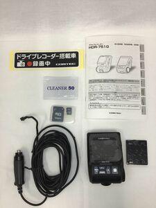 『 現状品 』コムテック HDR-751G 200万画素 Full HD ドライブレコーダー