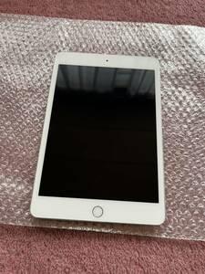 中古 傷あり au( SIMロック解除済み)Wi-Fi+Cellular iPad mini4 64GB ネットワーク制限◯
