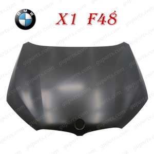 ★ BMW X1 F48 2015~ ボンネット フード 41007463772 41007427123 sDrive 18i xDrive 20i 25i 18d M スポーツ LCI 前期 後期 アルミ 外装