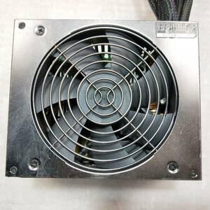 【中古パーツ】 玄人志向 KRPW-G530W/90+ 530W 電源ユニット 電源BOX 80PLUS GOLD ■DY236