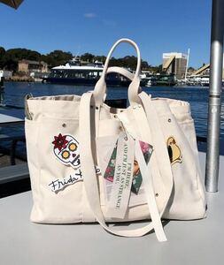 レディース メンズ キャンバスバッグ トートバッグ 大容量 ハンドバッグ かばん 白