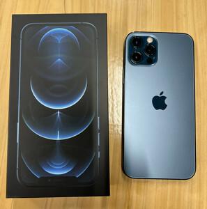 iPhone12 PRO アイフォン  ドコモ 256GB  パシフィックブルー  SIMロック解除済み  バッテリー容量 91%  送料無料!!