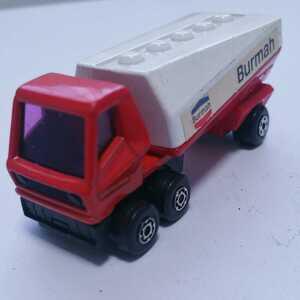 マッチボックス フリーウェイ ガスタンカー MATCHBOX FREEWAY GAS TANKER No.3 Burmah イングランド製 レズ二ー ミニカー レア