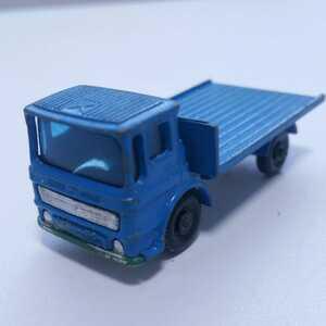 マッチボックス サイトハット トラック MATCHBOX SITE HUT TRUCK イングランド製 レズ二ー ミニカー レア