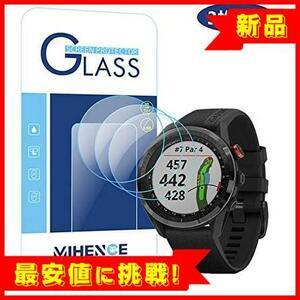 【新品×最安!】Garmin (ガーミン) Approach S62 Compatible 保護フィルム, A358 9H Mihence ガラス保護フィルム 対応 【3枚入り】 GARMIN