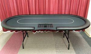 新古品!イベントマスター ポーカーテーブル poker table