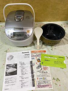 Panasonic スチームIHジャー炊飯器 SR-SY105J 2015年製 1.0L 炊飯器5.5合