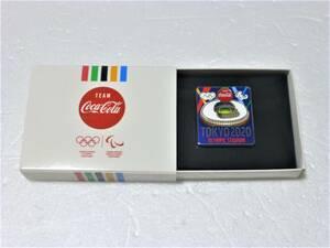 コカ・コーラ 2020 東京オリンピック 記念ピンバッジ スタジアム