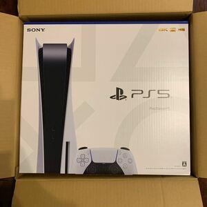 【新品・未開封】PlayStation 5(CFI-1100A01)本体 ディスクドライブ搭載モデル プレイステーション5 PS5