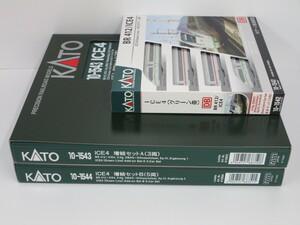 1J N_外国形 KATO カトー 10-1542/43/44 ICE4 グリーン帯 4両基本+3両増結A+5両増結B 12両セット 新品特価品
