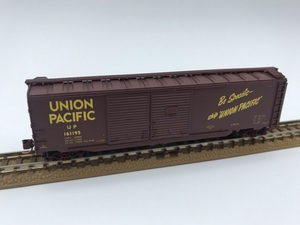 1J N_外国形 MICRO-TRAINS マイクロトレインズ 貨車 Box Car UNION PACIFIC UP 161195号 品番078 54 170