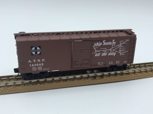 1J N_外国形 MICRO-TRAINS マイクロトレインズ 貨車 Box Car A.T.S.F 143585号 品番20060