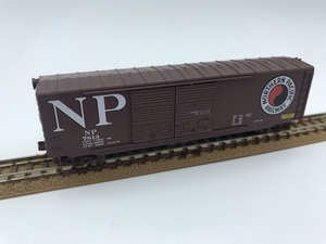 1J N_外国形 MICRO-TRAINS マイクロトレインズ 貨車 Box Car NORTHERNPACIFIC NP 7813号 品番37050