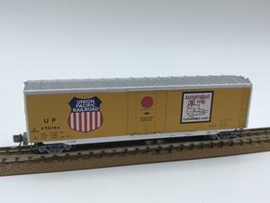 1J N_外国形 MICRO-TRAINS マイクロトレインズ 貨車 Box Car UNION PACIFIC UP 490164号 品番38280
