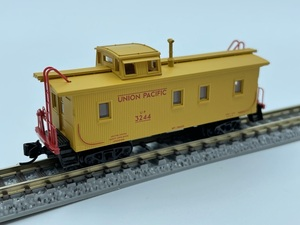 1J N_外国形 MICRO-TRAINS マイクロトレインズ 貨車 Caboose カブース UNION PACIFIC UP 3244号 品番055 00 101
