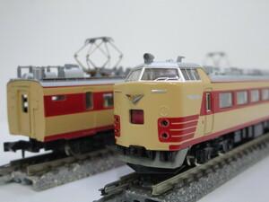 1J N_EC KATO カトー 485系 12両セット 旧製品 ※難有