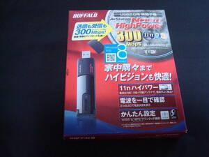 BUFFALO USB2.0接続 300Mbps ハイパワー無線子機 WLI-UC-G300HP 送料無料