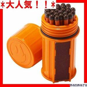 大人気!! ユーコ 日本 サイズ79×径39mm トームプルーフマッチキット トドア用 焚火 マッチ 防水・防風 UCO 152