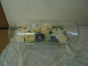 цветок ателье breather bdo цветок?* сухой цветок?/ стеклянный иен стойка кейс -. шт. есть -/