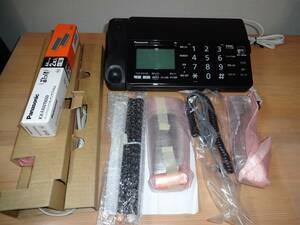 未使用品 パナソニック FAX電話機 KX-PD301DL-K カラーブラック 子機付き