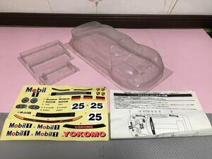 送料無料 1/10 当時物 ポルシェ 911 GT1 ルマン 未塗装 YR-4用 ラジコン ボディ ヨコモ YOKOMO PORSCHE RC BODY