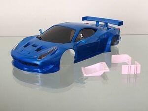 送料無料 京商 ミニッツ フェラーリ 458 GT2 ラジコン ボディ KYOSHO MINI-Z FERRARI RC BODY
