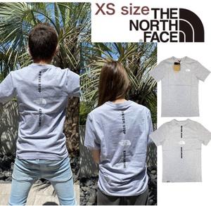 ノースフェイス Tシャツ 半袖 バックロゴ バーチカル NSE NF0A4CAX グレー XSサイズ THE NORTH FACE VERTICAL NSE TEE 新品