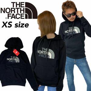 ザ ノースフェイス パーカー スウェット NF00AHJY ハーフドーム 裏起毛 ブラック XSサイズ THE NORTH FACE DREW PEAK HOODIE 新品
