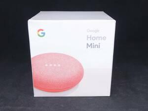 未開封 Google Home Mini グーグルホームミニ コーラル GA00217-JP スマートスピーカー