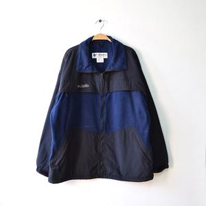 【送料無料】コロンビア アウトドア フリースジャケット Columbia メンズXL 紺色/黒色 ヴィンテージ USA デナリジャケット 古着 DD0127