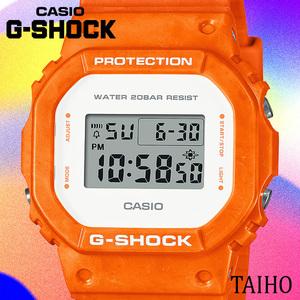 高級セームプレゼント♪新品 カシオ Casio ジーショック G-SHOCK 腕時計 オーシャンウェーブ 20気圧防水 ストップウオッチ 樹脂ベルト