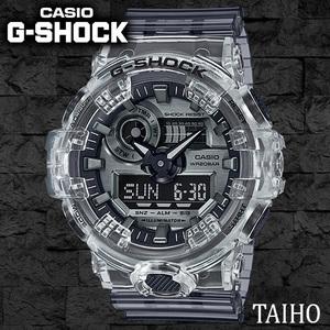 新品 カシオ Casio ジーショック G-SHOCK 腕時計 Clear Skeleton スケルトン クリア 透明 20気圧防水 ストップウオッチ カレンダー メンズ