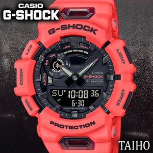 新品 カシオ Casio ジーショック G-SHOCK 腕時計 クオーツ 樹脂ベルト 20気圧防水 Bluetooth モバイルリンク ストップウオッチ オレンジ