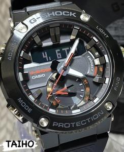 【即決 送料無料 セーム付き】新品 カシオ CasioジーショックG-SHOCK正規品腕時計アナデジ20気圧防水ソーラー耐衝撃構造フルブラックメンズ