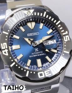 新品 SEIKO セイコー 正規品 PROSPEX プロスペックス モンスター MONSTER 自動巻き 腕時計 ダイバーズウォッチ メンズ SRPD25 200M防水
