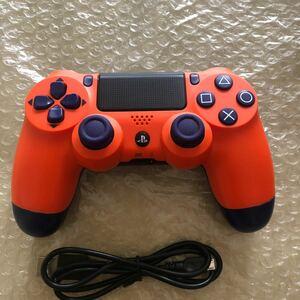 PS4 SONY PS4コントローラー デュアルショック DUALSHOCK4 サンセットオレンジ