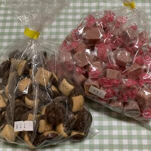 【送料無料】モールドチョコビス裸品&イチゴシェル(包) アウトレット 訳あり品 大容量! 人気商品