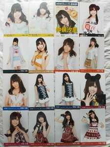 AKB48 仲俣汐里 生写真20枚セット 月別 劇場