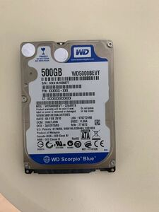 ハードディスク500GB HDD