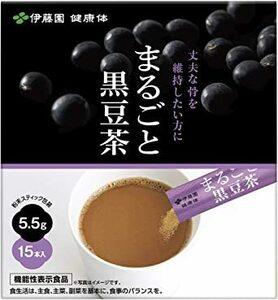 【伊藤園 公式通販】まるごと黒豆茶 粉末スティック 5.5g × 15本入 [機能性表示食品]