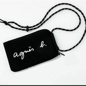 agnes b. VOYAGE アニエスベー ミニ ショルダーバッグ マルチケース