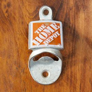 ウォールマウントボトルオープナー ホームデポ HOME DEPOT 壁面固定 栓抜き